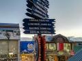 Entfernungsanzeige Ushuaia