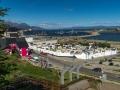 Friedhof und Bucht Ushuaia