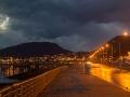 Regenwolken Ushuaia