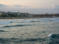 Valencia Strand Abendstimmung