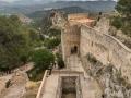 Burg - Mauer und Landschaft